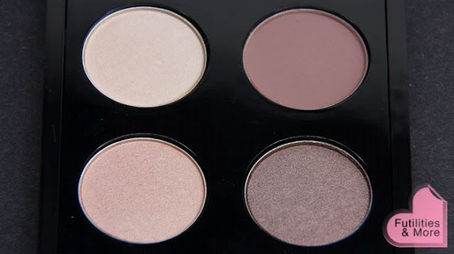 LOVE this MAC palette. from right to left: quarry, shroom, satin taupe, naked lunch