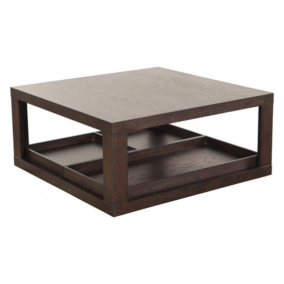 Calvin Klein Hudson Coffee Table Hawk Finish Coffee Tables Accent Tables Living Hd