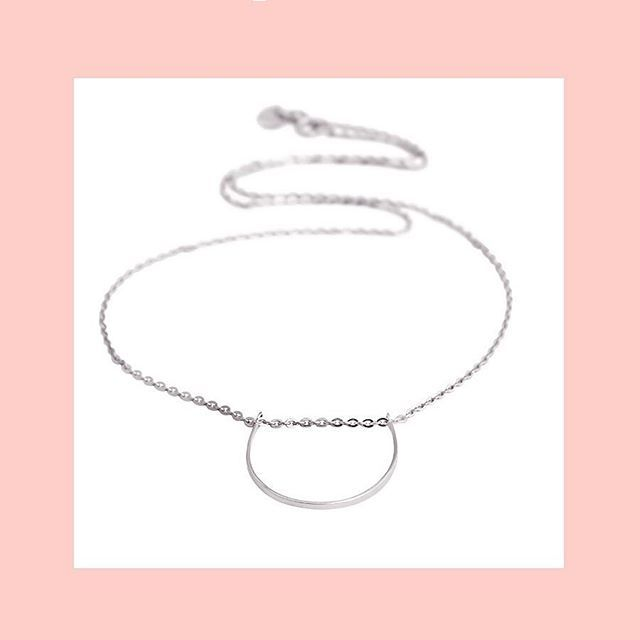 U Necklace #sterlingsilver #gold #rosegold Shop now by following the link in bio or check out the full range at correyandlyon.com.au