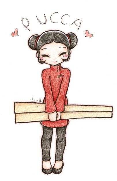 Pucca by NamekAngelIvy on deviantART