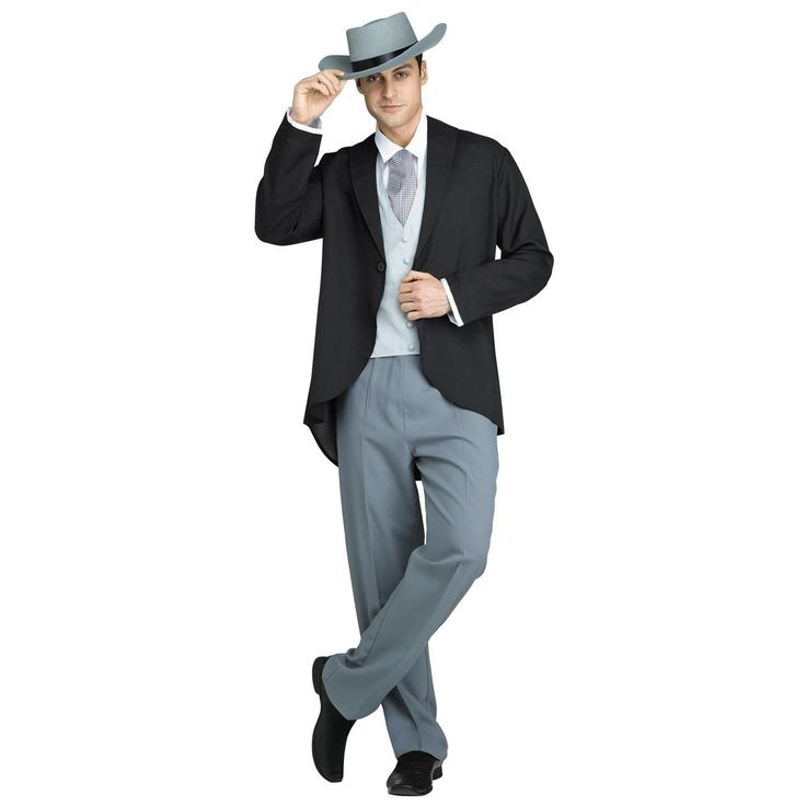 Gone with the Wind Rhett Butler Costume For Men -  cost on Pinterest said $69.99 (+ use code J2M7B94 for 20% off) - can't find buy link