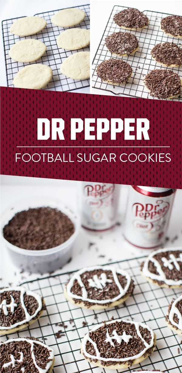 Dr Pepper Sugar Cookies
