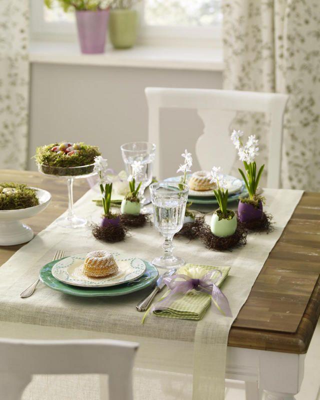 Tischdeko zu Ostern3