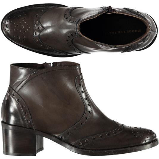 NEW ARRIVAL! Stivaletti alla caviglia con tacco Progetto Donna. Disponibili in 2 varianti colore - € 87,90 scontate del 14% le paghi solo € 75,90 | Nico