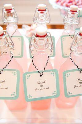 lovely pink dessert table