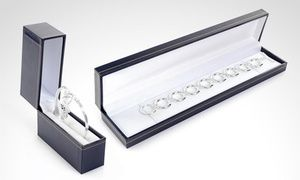 Groupon - Esclava, pulsera o tobillera de plata 925 en modelo a elección. Incluye despacho. Groupon deal price: $12.990