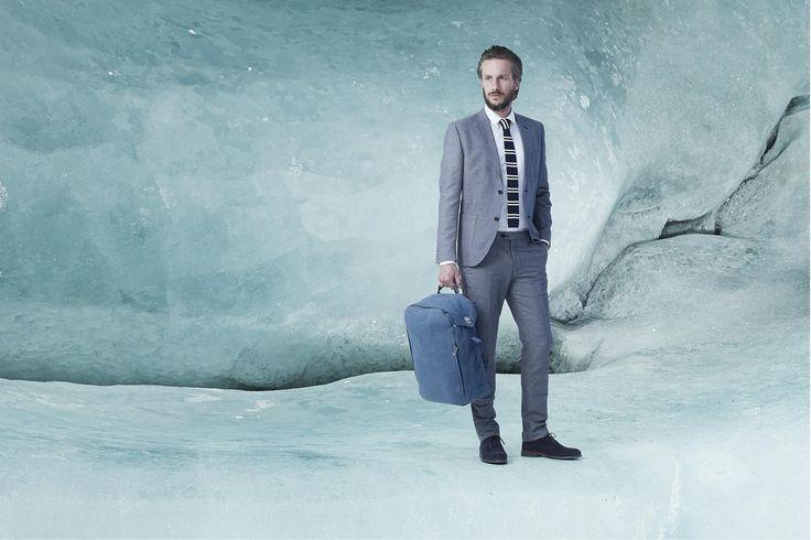 QWSTION Backpack Navy Blue - www.belance.com.au