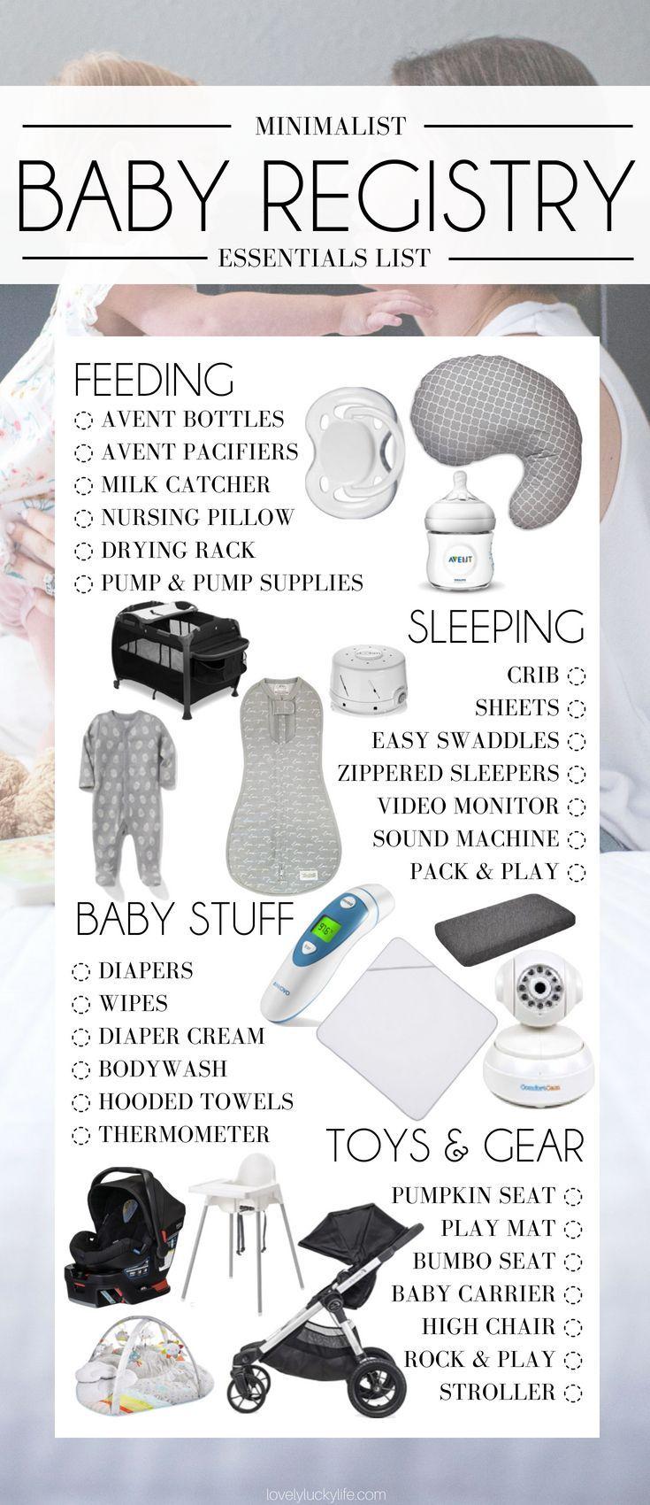 Minimalist Baby Registry von einer Mutter von drei…