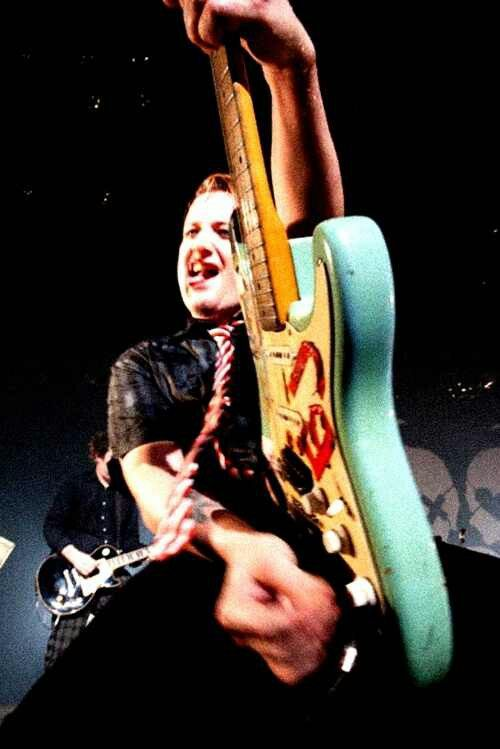 Tre Cool Green Day