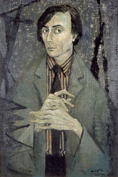 Clifton Pugh ~ Barry Humphries, 1958
