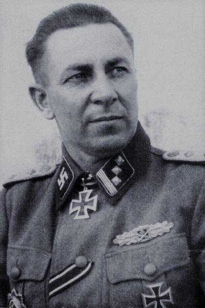 Waffen-Hauptsturmführer Žanis Butkus (1906-1999), Chef 10./Waffen-Grenadier Regiment 43 (lett. Nr.2) der SS, Ritterkreuz 21.09.1944