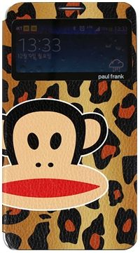 For Samsung Paul Frank Animal Window Brown