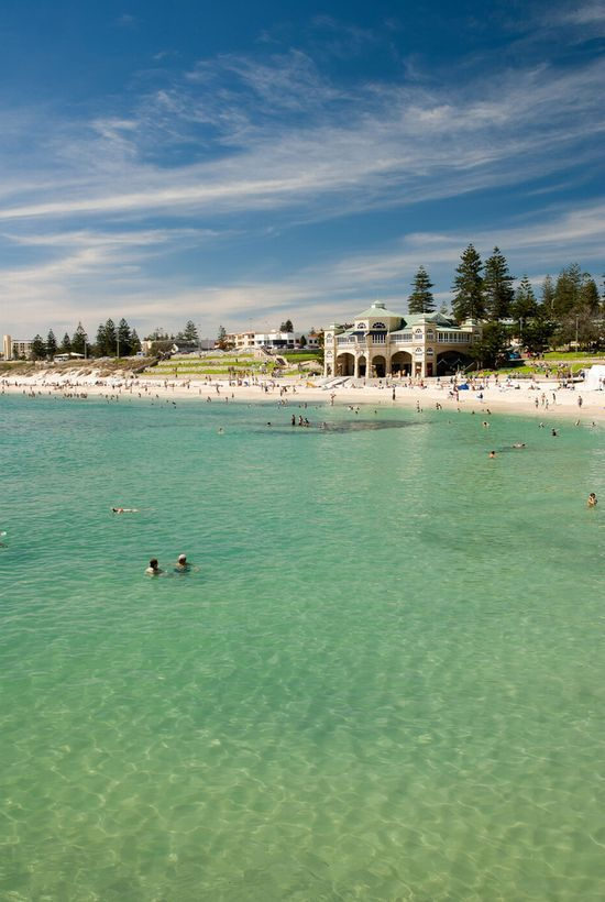 Cottesloe beach, Perth, Western Australia. My favorite beach in Perth   How beautiful, don't you just wish you could be there now? If you're in Perth, and in need of some online marketing help, come talk to us today! http://www.exaperth.com.au/