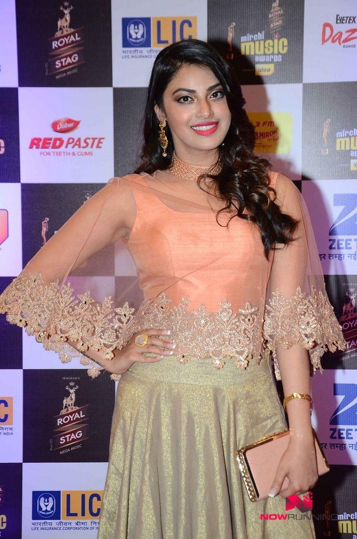 Anushka Ranjan at at radio mirchi awards night