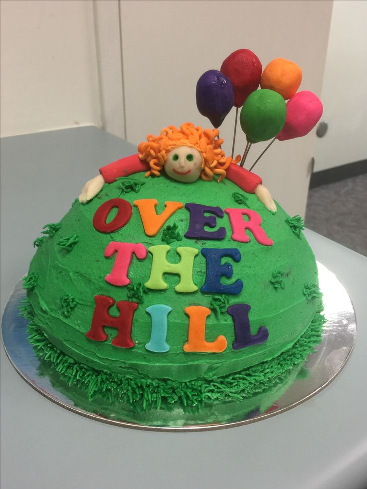 40th Birthday Cake - Over the Hill