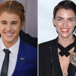 Here's Another Reminder That Justin Bieber and Ruby Rose Are Twins