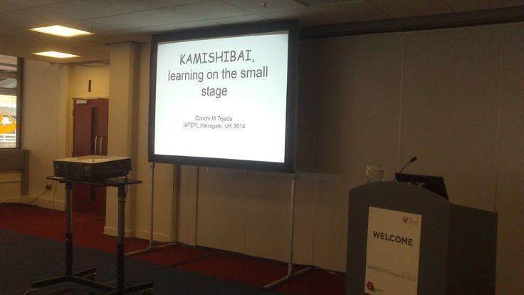 IATEFL HARROGATE 2014 Kamishibai, learning on the small stage