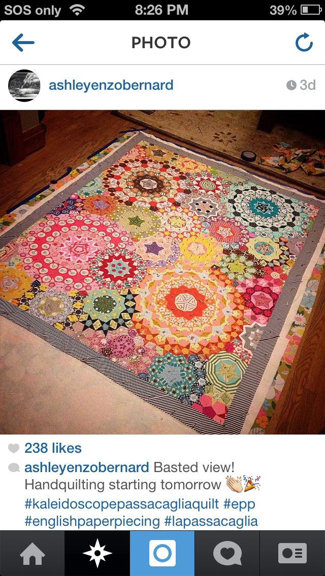 Oh my gosh it's a MILLEFIORI QUILT     near where I live. I'm stoked