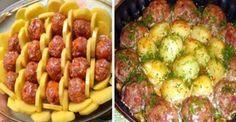 Volt otthon egy kis burgonya és darált hús, tortaformába tette és ínycsiklandó ételt készített belőle!