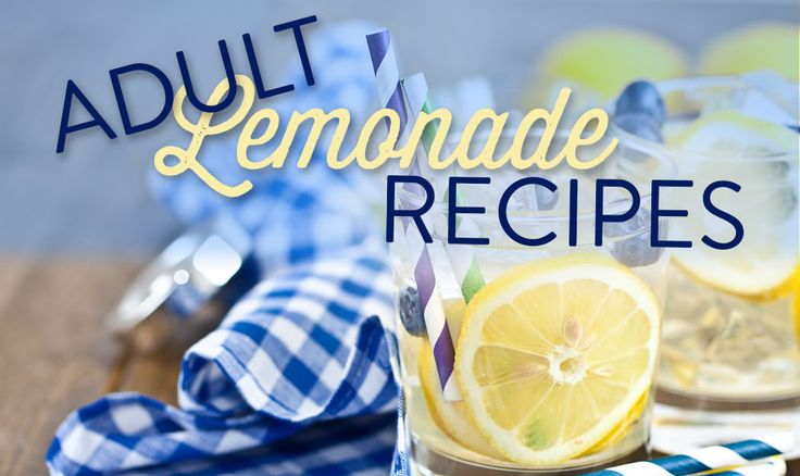 5 Adult Lemonade Recipes