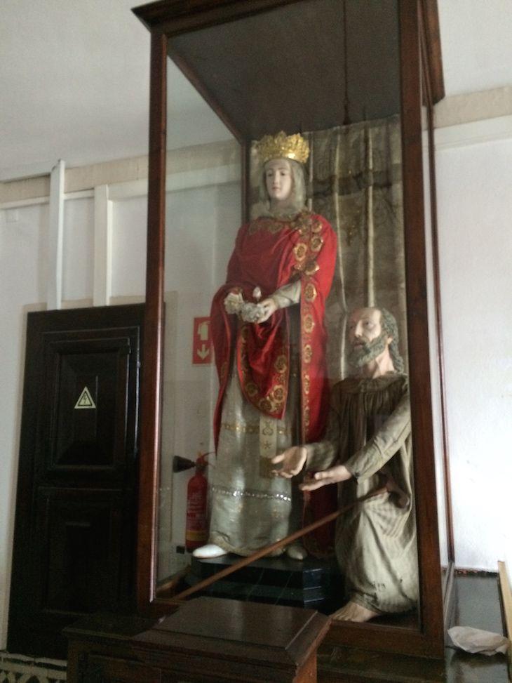 Rainha Santa Isabel no Mosteiro de Santa Clara a Nova