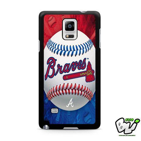 Atlanta Braves Samsung Galaxy Note 4 Case
