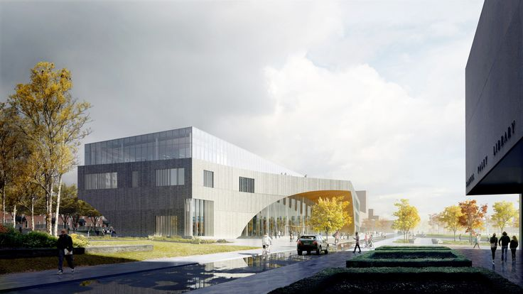 Gallery of Snøhetta's Library for Temple University Begins Construction - 2