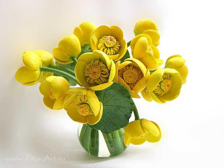 Лучшие работы : Желтые кувшинки в кувшинчике - Fito Art