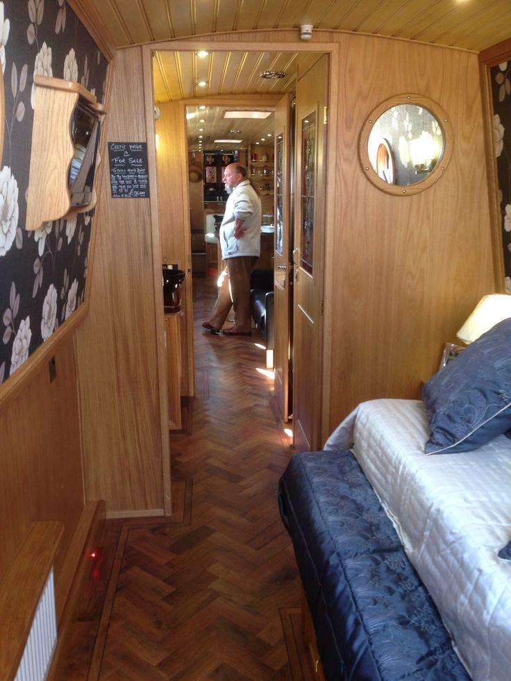 Wizard Narrowboats Celtic Pride Walk Through Bathroom