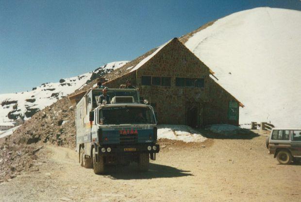 Pod Chacaltayou, Bolívie