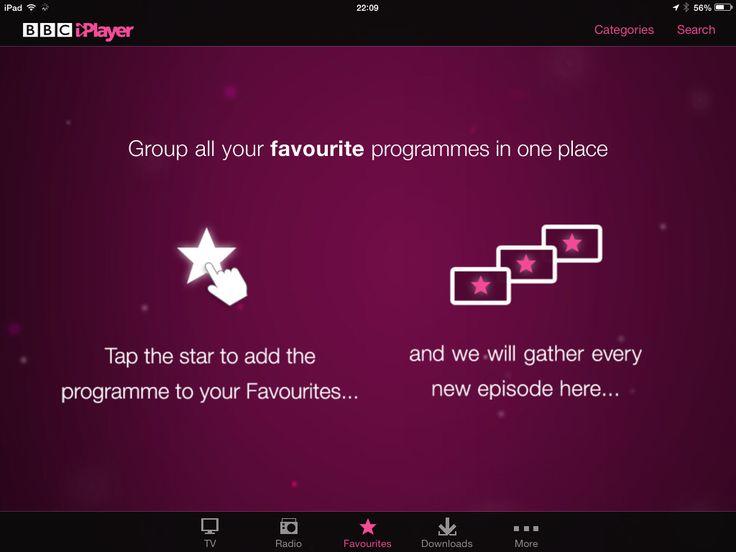 @Jiri Jacknowitz Mocicka TV Research Apps  BBC iPlayer Onboarding