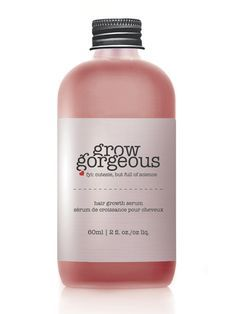 """Grow Gorgeous Hair Growth Serum """"If you're one of the thousands of women worried about hair thinning or falling out, or simply want more bulk, this new serum could be a game changer. It contains a high dose of active ingredients and peptides that kick-start hair growth at the root – up to 78% faster growth than average, to be precise. It boosts collagen in the scalp, meaning hair is less likely to fall out, and contains all kind of natural goodies that improve thickness."""""""