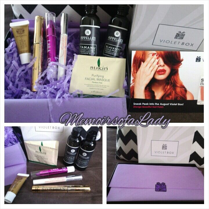 My VioletBox arrived today. So happy;) Thankyou VioletBox Nz