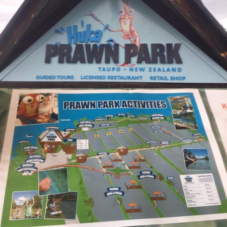 Huka Prawn Park, Taupo, New Zealand