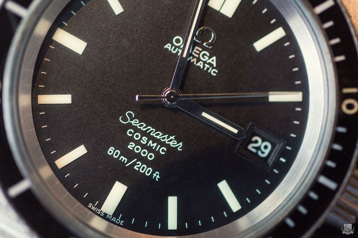 Omega Seamaster Cosmic 2000 - cadran