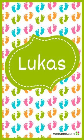 Finde heraus, wo der beliebte Jungenname Lukas herkommt, was er bedeutet, wann sein Namenstag ist und vieles mehr. Alle Infos zum Namen Lukas auf Vorname.com entdecken!