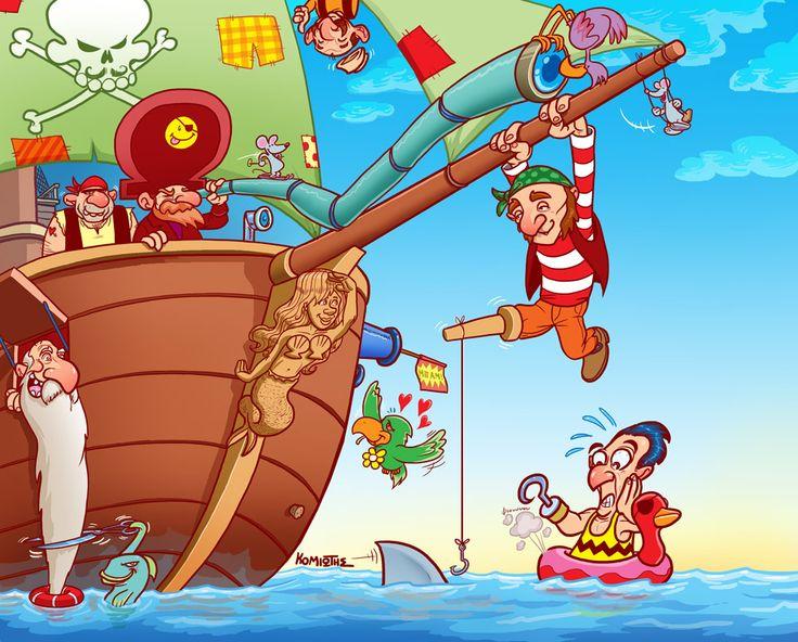praatplaat piraten