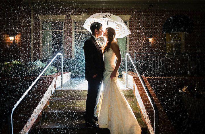 Aqui está uma coleção de 20 fotos do casamento de tirar o fôlego com um toque especial da natureza.