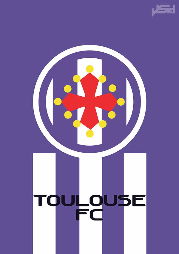 Minimal French Ligue 1 2014-15 on Behance