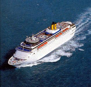 Costa Romantica, my first cruise 2001