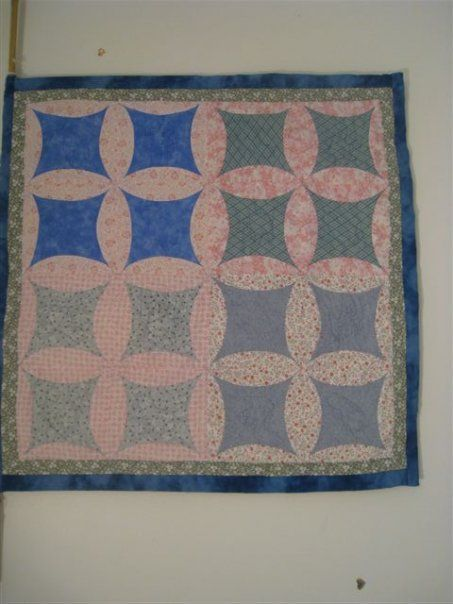 "Wall hanging quilt ""Engagement"""
