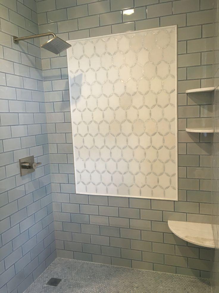 Ann Sacks Savoy Cornflower Blue Subway Tile Benton Mosaics Circles Annsacks