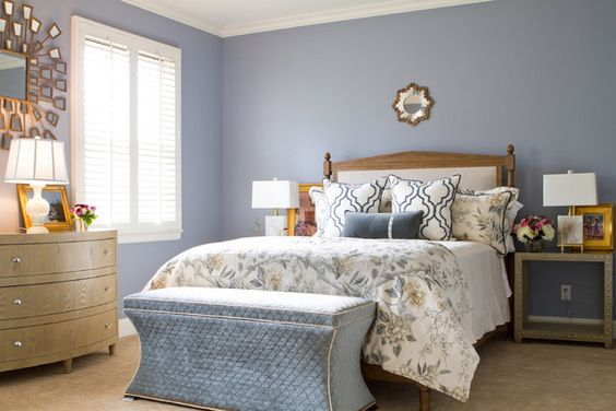 Looking for the perfect blue paint try nickel 2119 50 by for British bedroom ideas