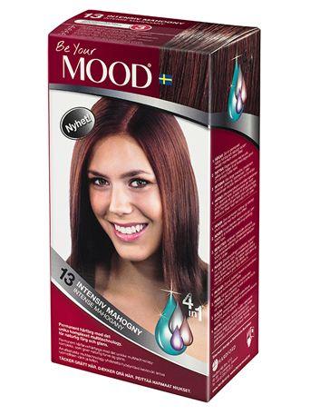 » N 13 INTENSIV MAHOGNY Permanent hårfärg med det unika komplexet multitechnology, för naturlig färg och glans. Täcker grått hår.  Ger alla hår en rödviolett ton. Blonda och gråa hår blir en aning ljusare