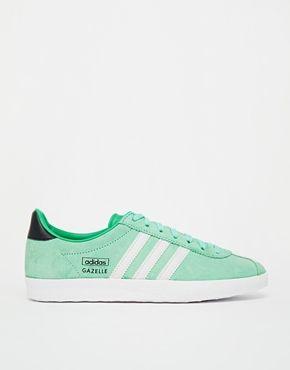 Enlarge Adidas Originals Gazelle OG Blush Green Trainers