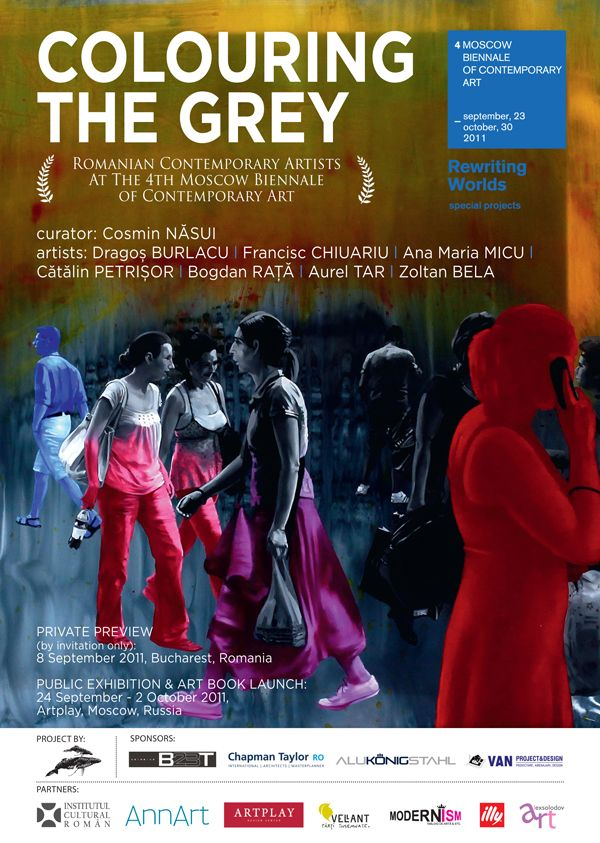 """The Romanian project """"Colouring the Grey. Second wave of Romanian contemporary emerging artists"""""""