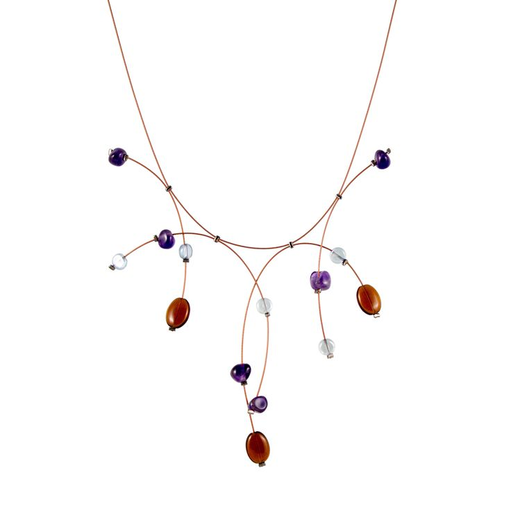 Earth Necklace on Copper $110  Fall 2013 Spruce Jewelry: Modern wearable art handmade in Austin, Texas.   #handmade #MadeintheUSA #jewelry