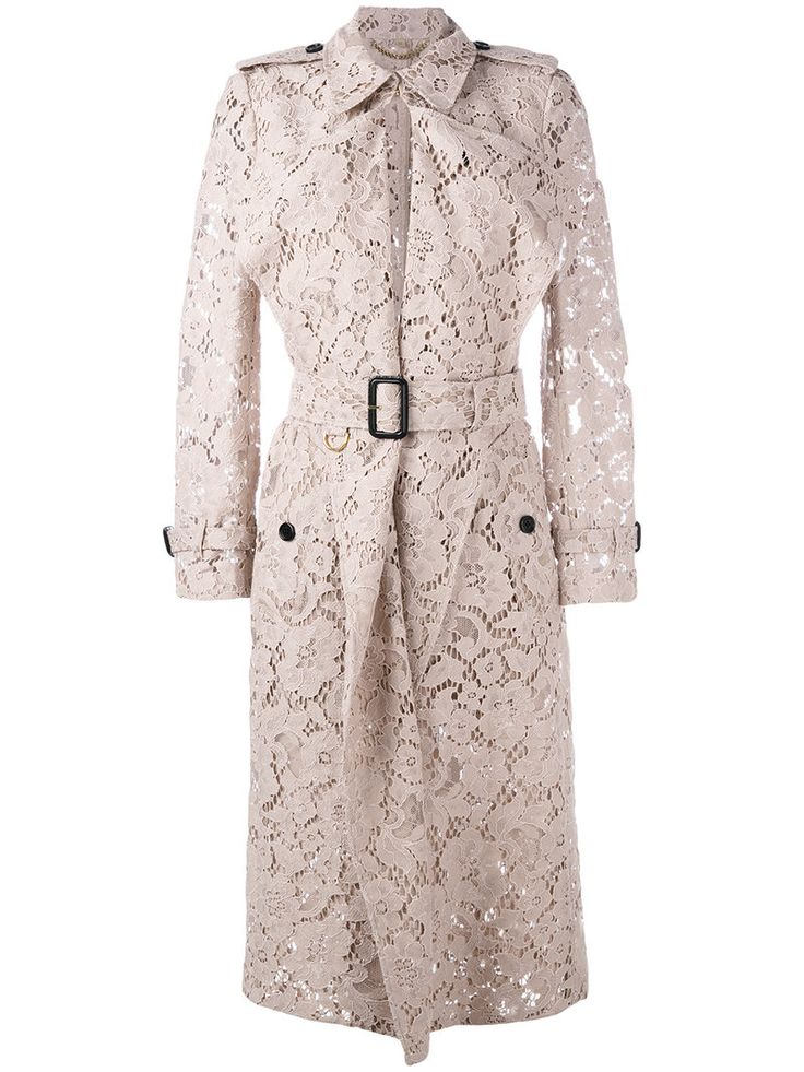 ¡Cómpralo ya!. Burberry - Lace Trench Coat - Women - Cotton/Polyamide/Viscose - 4. Nude lace trench coat from Burberry featuring a sheer construction, a belted waist and buckled cuffs. Size: 4. Color: Pink/purple. Gender: Female. Material: Cotton/Polyamide/Viscose. , trench, trenchlargo, trenca, trencas, trenkas, trenchconcinturón, estilochal, estilochaldeantelina, cascada, funcional, trenka, trenchcoat, trenchcoat, gabardina, trench, trench, trench. Trench  de mujer color rosa,púrpura de...
