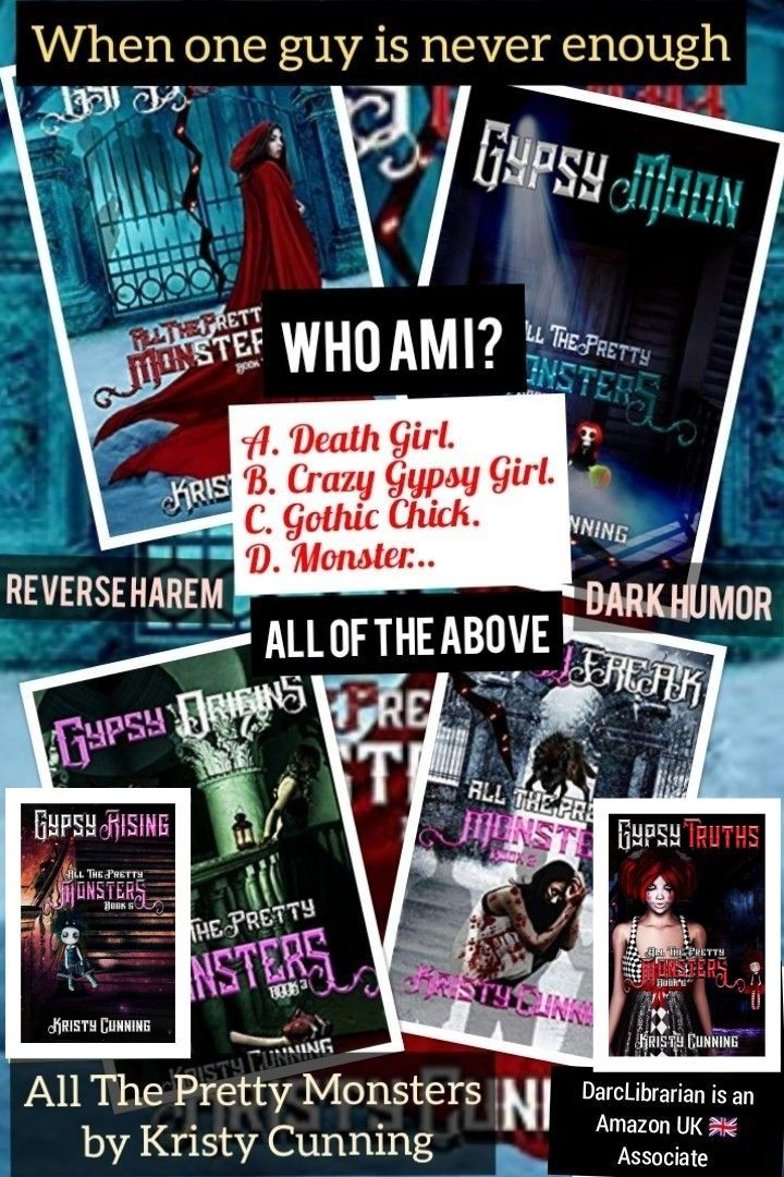 All The Pretty Monsters 6 Book Series Ebook Kristy Cunning Image Links To Series Page On Amazon Co Uk Kindle Books Monster Book Of Monsters Death Girl