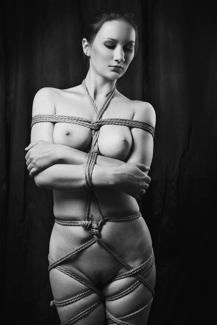 Ropke knots bondage fuck stocking